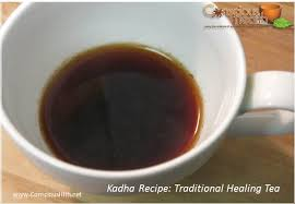 Kadha recipe in Ayurveda