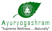 Ayuryogashram ayurvedic treatment center logo