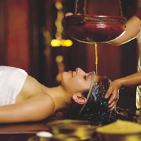 ayurvedic treament and therapies - dhara